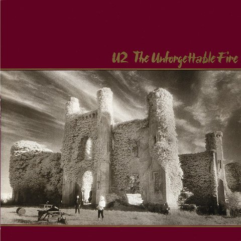 U2 ‎– The Unforgettable Fire [LP]