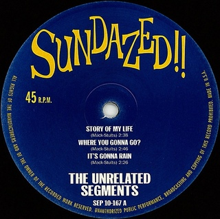 "Unrelated Segments - The Unrelated Segments EP [10""] - 180 Selo Fonográfico"