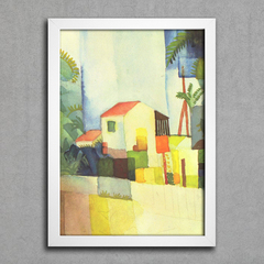 August Macke - Bright House
