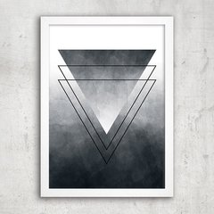 Poster Abstract Ombre Triangle - comprar online