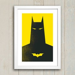 Poster Batman Yellow na internet