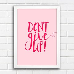 Poster Don't give up na internet