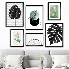 Gallery Wall Tropical Black