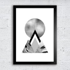 Poster Grey Mountains