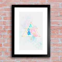 Poster Marble Mountains Triangles - comprar online