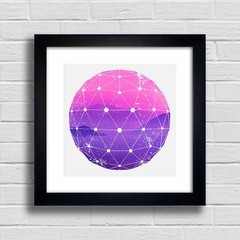 Quadro Purple and Pink Mountains - comprar online