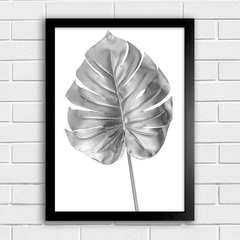 Poster Silver Leaves II