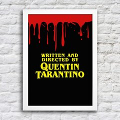 Poster Directed by Tarantino - comprar online