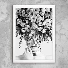 Poster Thinking in flowers - comprar online