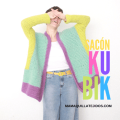 "SACÓN ""KUBIK"" - PATRON EN PDF on internet"
