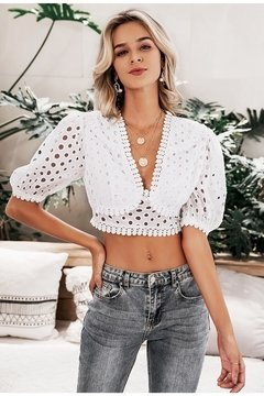 Cropped Top de Lese - Ref.1365