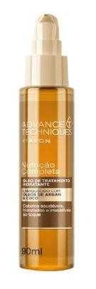 Óleo Hidratante Argan e Coco 90ml [Advance Techniques - Avon]