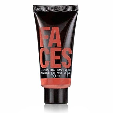 Base Líquida CheckMatte fps 8 20ml [Faces - Natura]