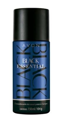 Black Essential Desodorante Aerossol 150ml [Avon]