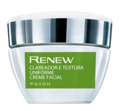 Creme Facial Clareador e Textura Uniforme 30g [Renew Clinical - Avon]