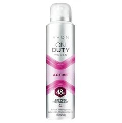 Desodorante Aerossol Antitranspirante On Duty Women Active 150ml [Avon]