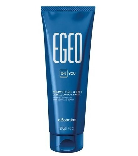 Egeo On You Shower Gel Cabelo, Corpo e Barba 200g [O Boticário]