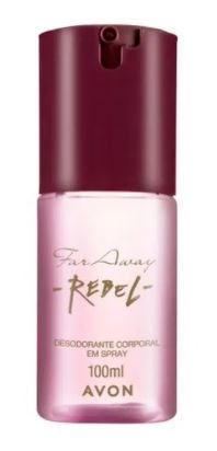 Desodorante Corporal em Spray Far Away Rebel 100ml [Avon]
