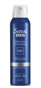 Cool Ice Desod. Aerossol Antitranspirante 150ml [Sensi Men - Jequiti]