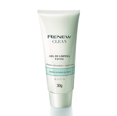 Gel de Limpeza Facial 30g [Renew Clean - Avon]