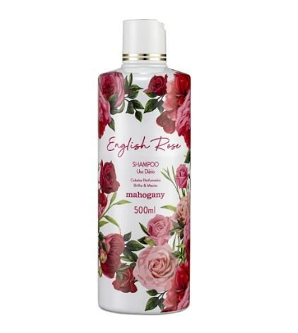 Shampoo English Rose 500ml [Mahogany]