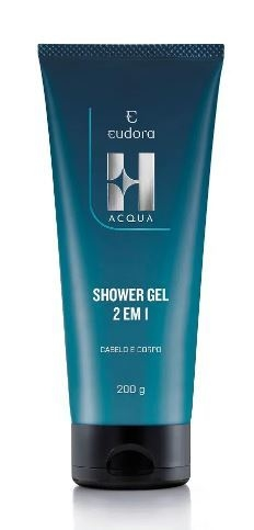 H Acqua 2 em 1 Shower Gel Corporal 200ml [Eudora]