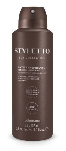 Styletto Desod. Antitranspirante Aerosol 75g [Boticollection - O Boticário]