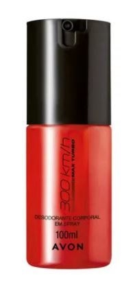 Desodorante Corporal em Spray 300 Km/h Turbo 100ml [Avon]