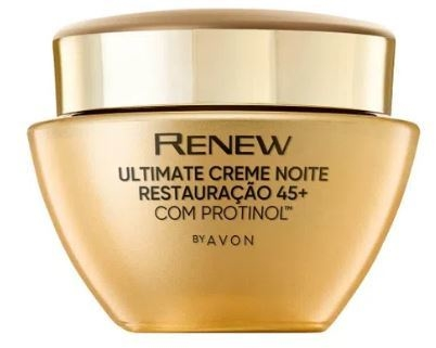 Creme Facial Antirrugas +45 Noite 50g [Renew Ultimate - Avon]