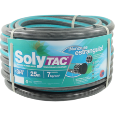 Riego 3/4 X 15 Mts Anticolapsable Solytac Reforzada