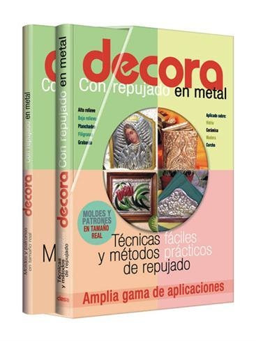 Curso de Decoración con repujado en metal.