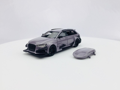 HPI 1:64 Audi RS6 Cement Grey