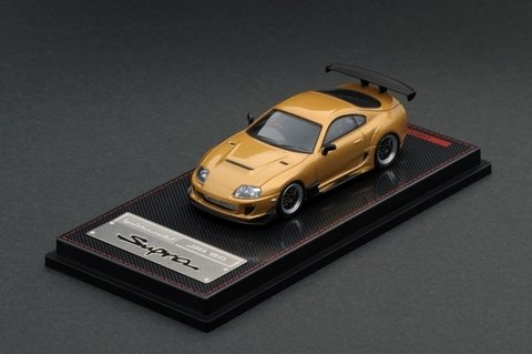 Ignition Model 1:64 Toyota Supra JZA80 RZ Gold
