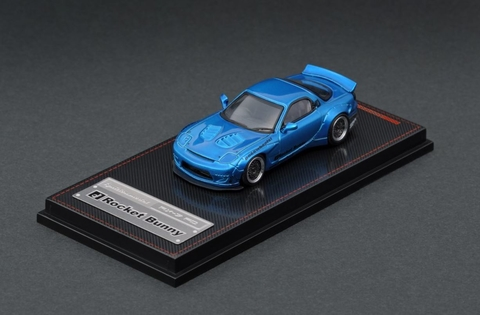 Ignition Model 1:64 Mazda RX7 Azul Metalico