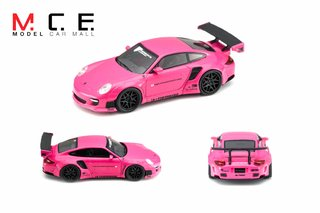 PC Club 1:64 Porsche 911 LB Performance Rosa - comprar online