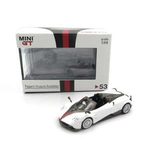 Mini GT 1:64 Pagani Huayra Roadster Branco