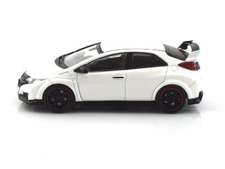 Tarmac 1:64 Honda Civic Type R FK2 - Championship White - T64-003-WH - Curitiba Customs