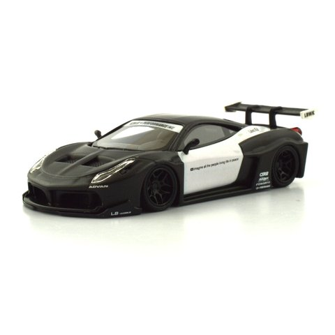 PC Club 1:64 Ferrari 458GT LB?PERFORMANCE - Fibra de Carbono/Branco
