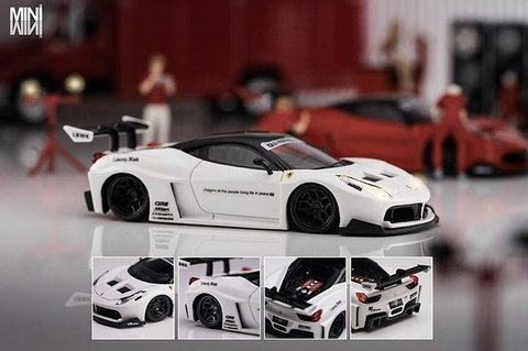PC Club 1:64 Ferrari 458GT LB?PERFORMANCE - Branco