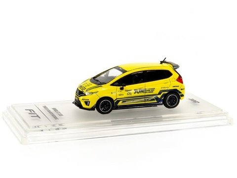 PRÉ VENDA INNO64 1:64 Honda Fit 3 RS Jazz MK3 GK5 Tuned JUN