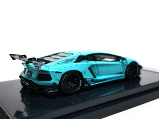 JEC 1:64 LB Performance Lamborghini LP700-4 Aventador 2.0 Wide Body - Tiffany Blue - comprar online