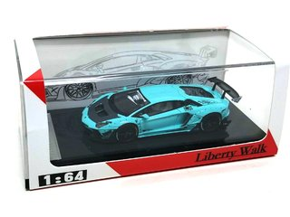 JEC 1:64 LB Performance Lamborghini LP700-4 Aventador 2.0 Wide Body - Tiffany Blue na internet