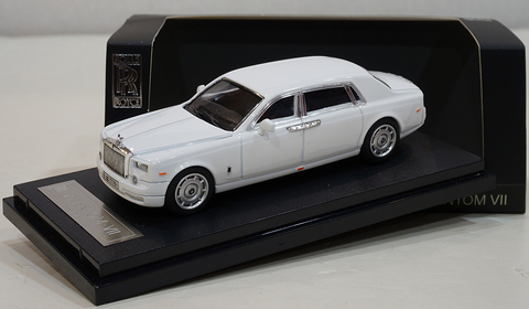 Alloy 1:64 Rolls Royce Phantom Branco