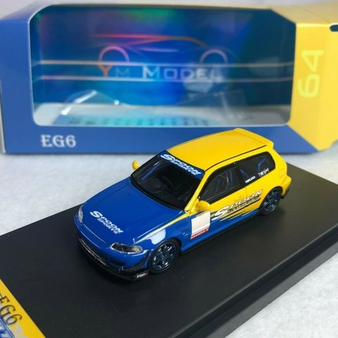 YM Model 1:64 Honda Civic Eg6 Spoon