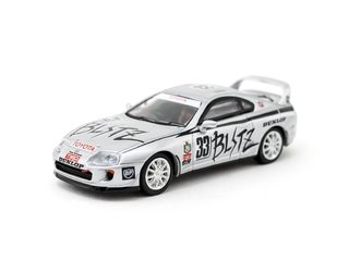 PRÉ VENDA Tarmac 1:64 Toyota Supra Team Blitz Group N #33