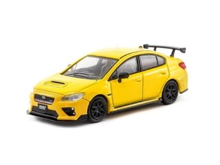 Tarmac 1:64 Subaru WRX STI S207 NBR Package Sunrise Yellow