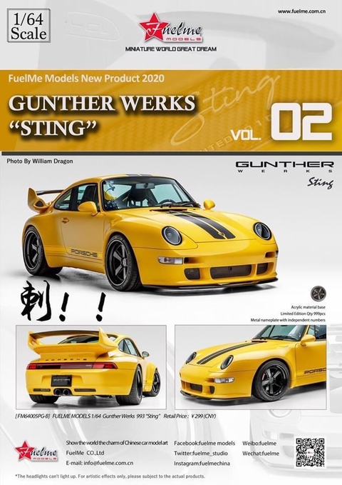 "FuelMe 1:64 Porsche Gunther Works ""Sting"""