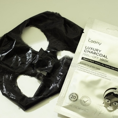 COONY CHARCOAL PEEL-OFF BLACK MASK Pack x 2