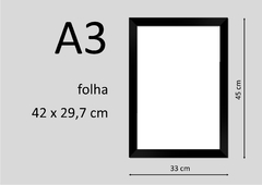 POSTER QUADRO DECORAÇÃO ROCK PINK FLOYD - WISH YOU WERE HERE - Honey Peppers