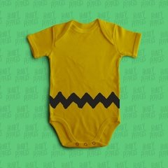 BODY BEBE DIVERTIDO CHARLIE BROWN